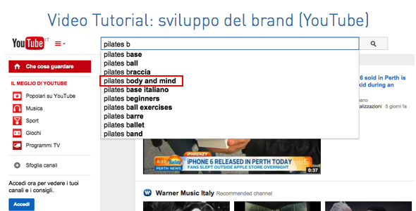 Video Tutorial - Sviluppo del Brand