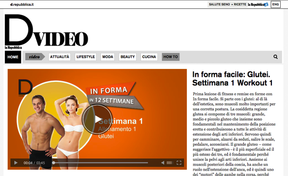 Video per Editori - D di Repubblica